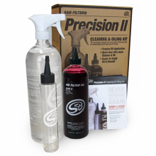 Precision II: Cleaning & Oil Kit (Red Oil)