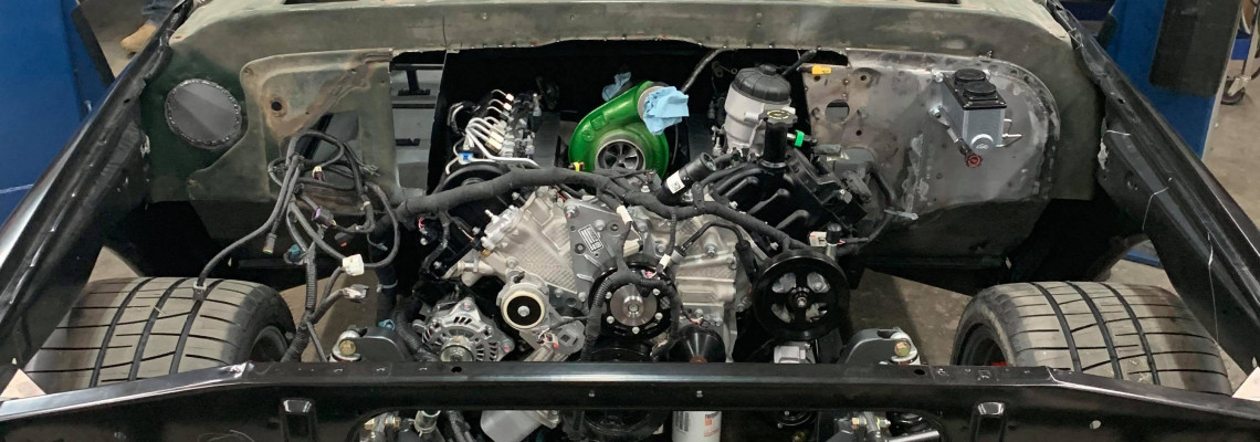 C-Tane: A Cummins-Swapped C10 Like You've Never Seen