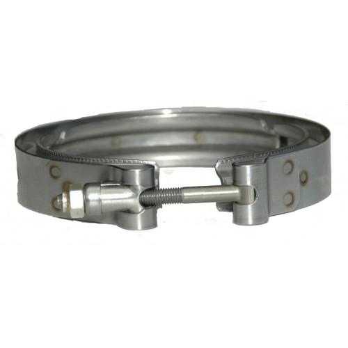 BUNDLE * S400 Compressor Outlet Flange w/ O-Ring & V-Band Clamp
