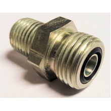 "~6 O-Ring Face Seal to 1/4"" NPT Fitting (Stock oil line 24v/Common rail to 1/4npt adaptor)"
