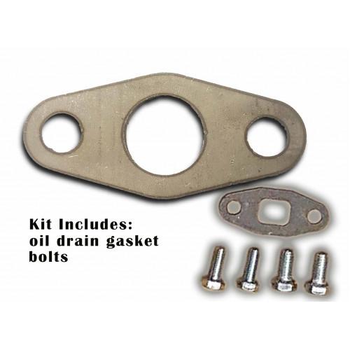 s300/s400 Steel oil drain flange kit
