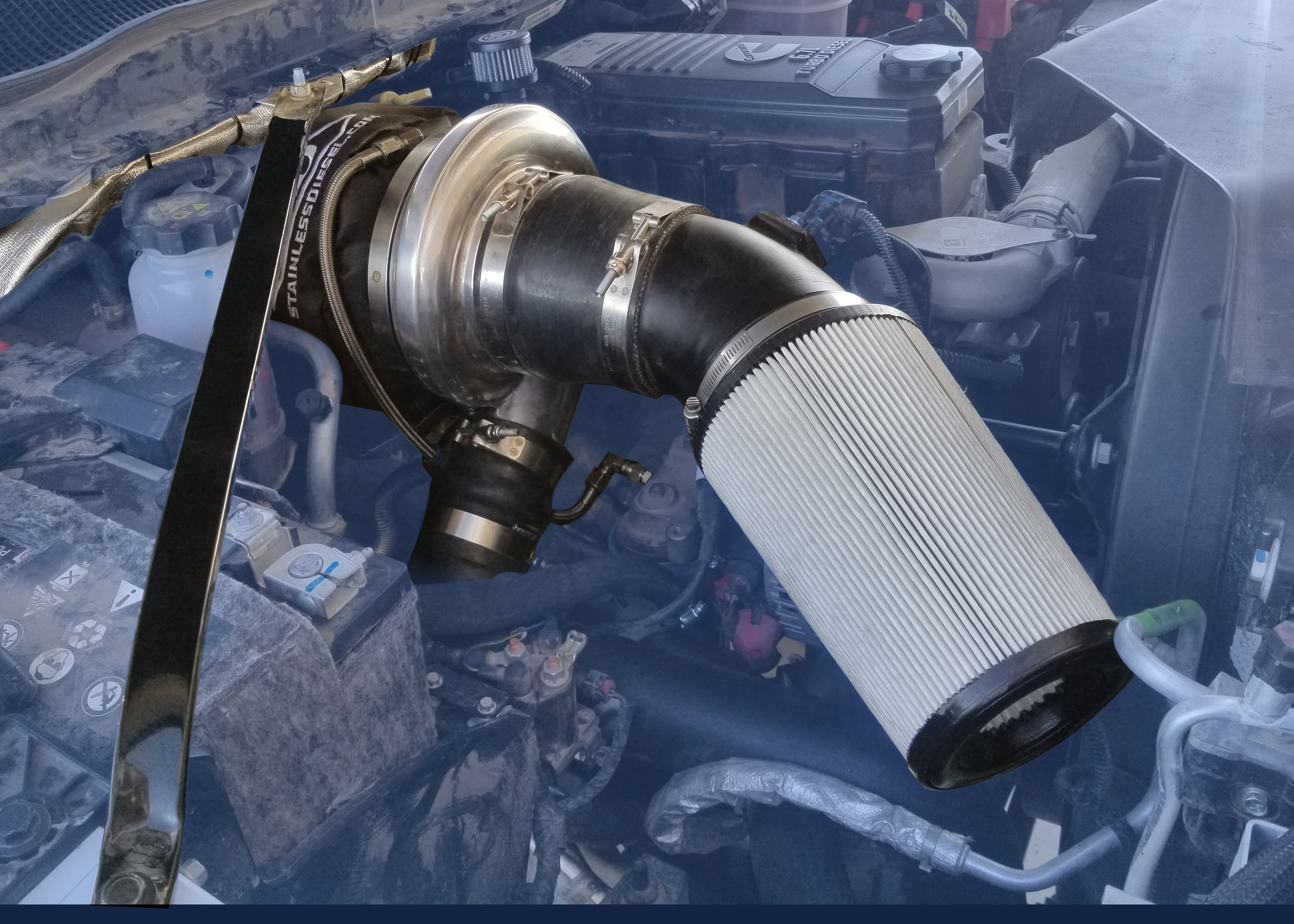 19 20 S400 2nd Gen Single Swap Piping Only Kit