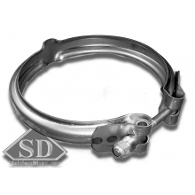 V-Band Clamp T6 S400 / K31 exhaust 5.00""