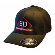 SD Black Flex-Fit Hat