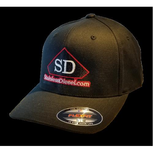 SD Black Flex-Fit Hat