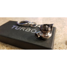 Mini Dual-Sided Turbo Keychain
