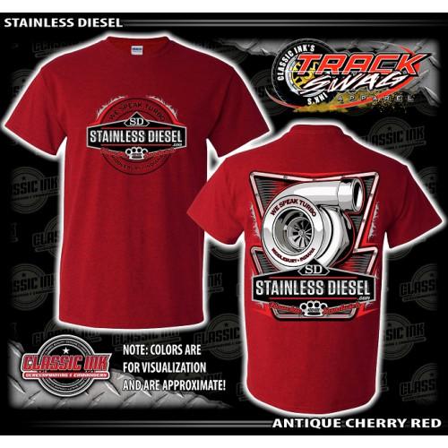 Red Turbo Talk T-Shirt