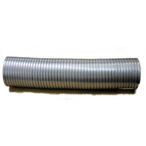 """4.00""""x 18.00"""" Stainless Flex Pipe"""