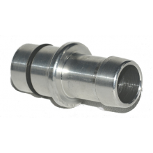 Press-In aluminum oil block fitting