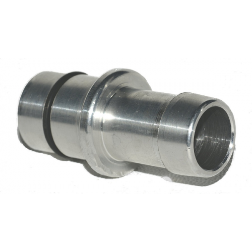 Press-In aluminum oil block fitting